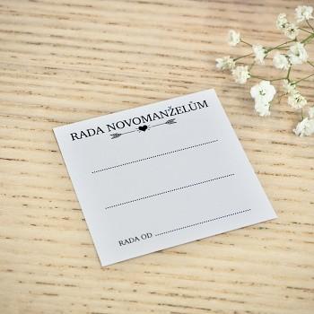 Kartička Rada novomanželům