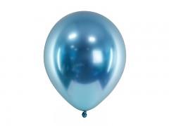 Balónek chromový modrý