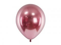 Balónek chromový růžovozlatý