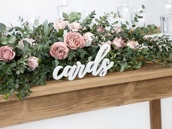 Nápis cards