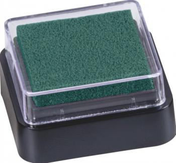 Razítkovací polštářek tmavě zelený