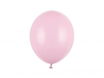 Balónek světle růžový pastelový 100 ks