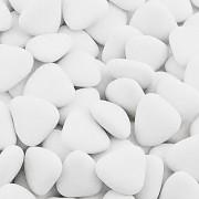Čokoládová srdíčka bílá 1 kg