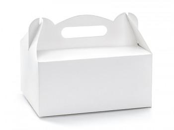 Krabička na svatební výslužku hranatá 10 Ks