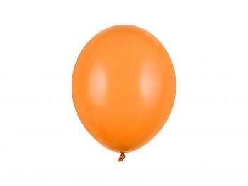 Balónek oranžový pastelový 10 ks