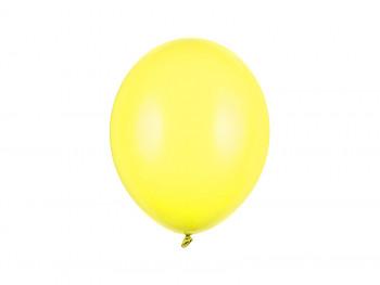 Balónek žlutý pastelový 100 ks