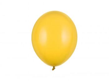 Balónek sytě žlutý pastelový 10 ks