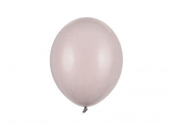 Balónek teplý šedý pastelový 50 ks