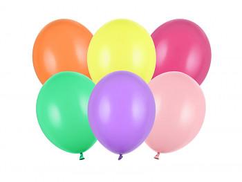 Balónky mix barev pastelové 10 ks