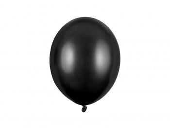 Balónek metalický černý 100 ks