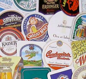 Výroba pivních tácků 2500 ks, 2,73 Kč bez DPH kus
