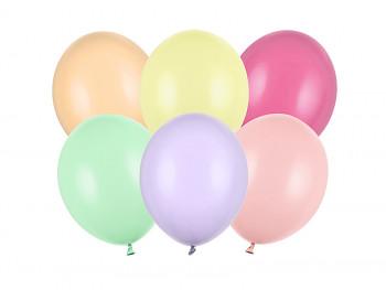 Balónky mix jemně pastelových barev 50 ks