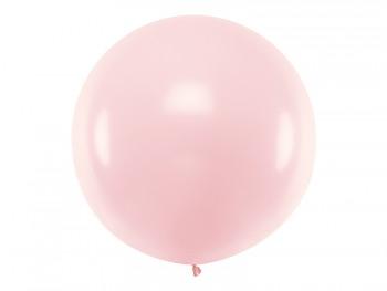 Balónek světle růžový ø 1 m