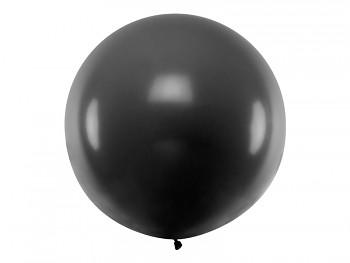 Balónek černý ø 1 m