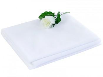 Tyl 150 cm x 50 m bílý